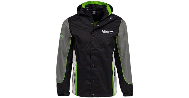 Kawasaki Racing Team Nylon Jacket detail photo 1