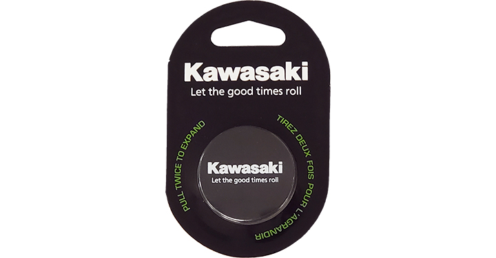 Support de téléphone portable Kawasaki Let the good times roll detail photo 1