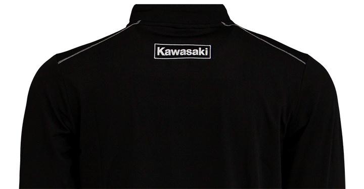 Kawasaki Performance Fleece 1/4 Zip Pullover Sweatshirt detail photo 2