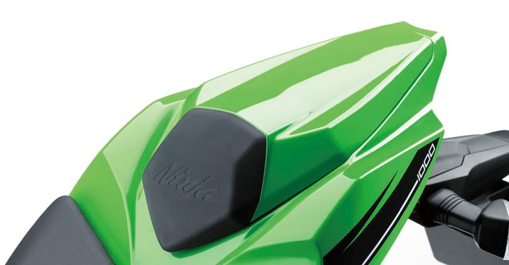 Solo Seat Cowl Assembly, Lime Green detail photo 2