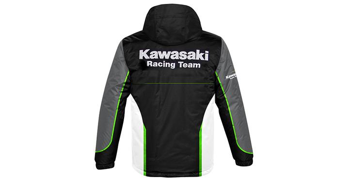 Veste Kawasaki Racing Team en nylon detail photo 2
