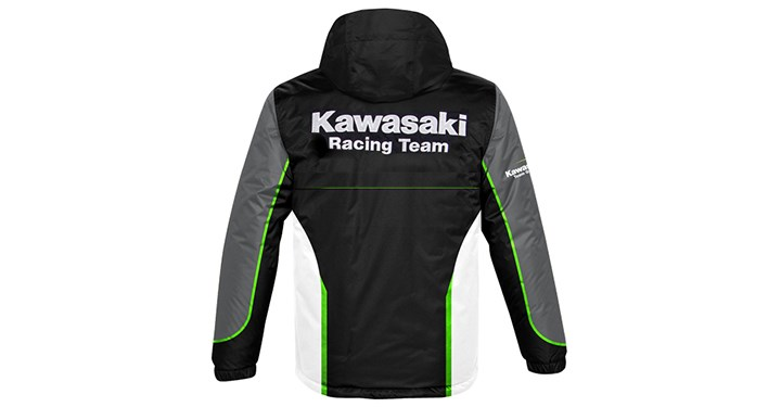 Kawasaki Racing Team Nylon Jacket detail photo 2