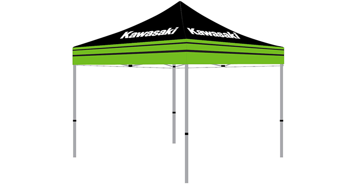 Kawasaki Pit Tent detail photo 1