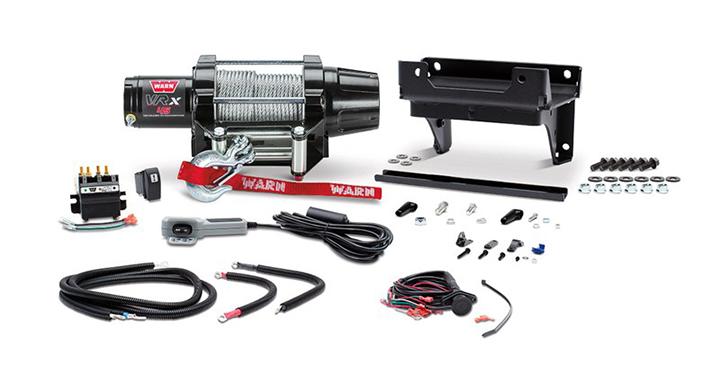 Warn VRX45 Winch Kit detail photo 1