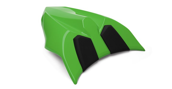 Solo Seat Cowl Assembly, Lime Green detail photo 1