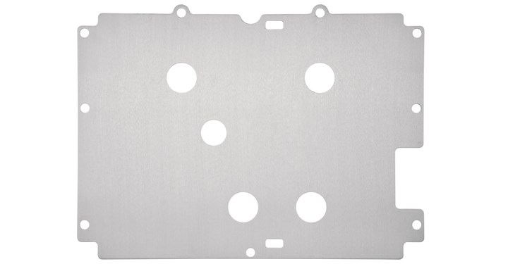 Skid Plate, Rear detail photo 1