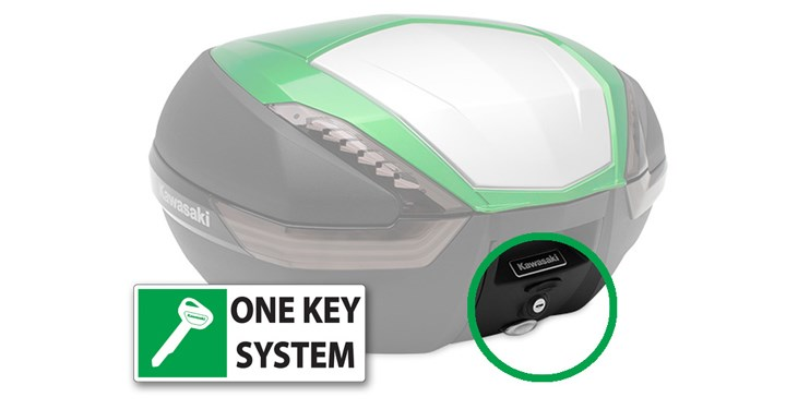 KQR 47 Litre Top Case One Key System - Type B detail photo 1