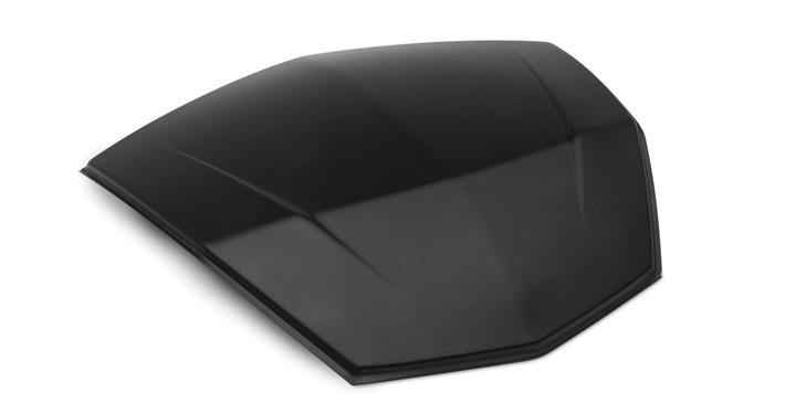KQR 47 Litre Top Case Panel, Black detail photo 1