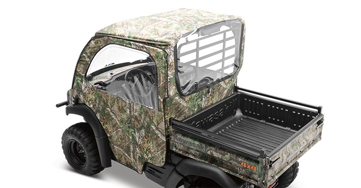Soft Cab Enclosure Roof and Back, Realtree Xtra Green detail photo 1