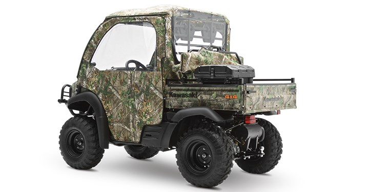 Soft Cab Enclosure Roof and Back, Realtree Xtra Green detail photo 2