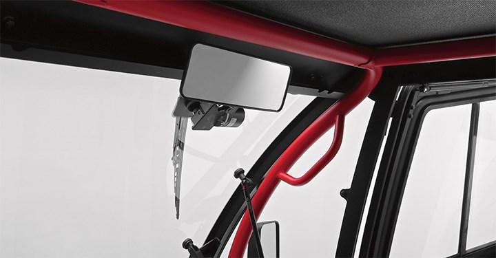 Hard Cab Enclosure Rearview Mirror detail photo 1