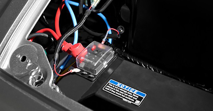 Accessory Fuse Box detail photo 2