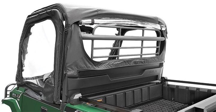 Soft Cab Enclosure Back, Black detail photo 2