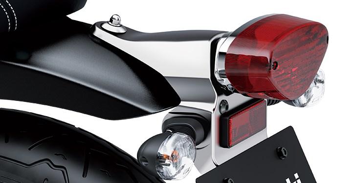 Tail Lamp Bracket, Chrome detail photo 1
