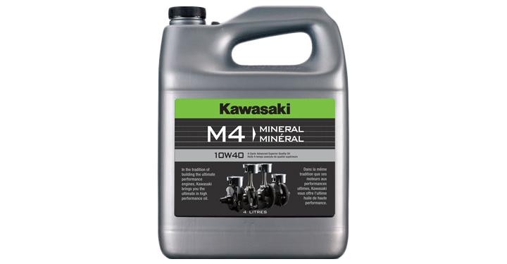 Kawasaki M4 10W40 - 4 Litre detail photo 1