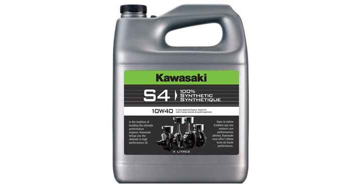 Kawasaki S4 10W40 - 4 Litre detail photo 1