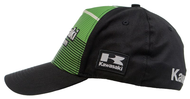 Kawasaki Racing Team Stripe Fitted Cap detail photo 2