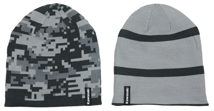 Kawasaki Digi Camo Reversible Beanie detail photo 1