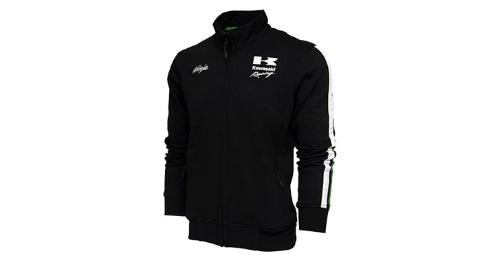 Kawasaki Ninja Racing Full Zip Sweatshirt detail photo 2
