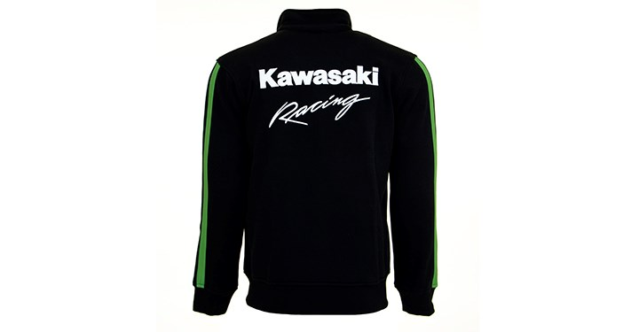 Kawasaki Ninja Racing Full Zip Sweatshirt detail photo 4