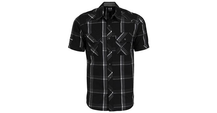 Chemise boutonnée à manches courtes Kawasaki detail photo 1