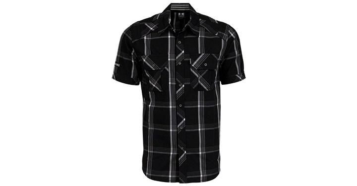 Kawasaki Short Sleeve Button Down Shirt detail photo 1