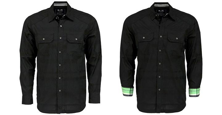 Kawasaki Long Sleeve Button Down Shirt detail photo 1