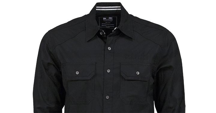 Kawasaki Long Sleeve Button Down Shirt detail photo 2