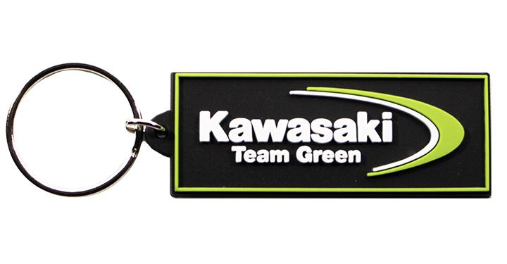 Kawasaki Team Green Key Chain detail photo 1