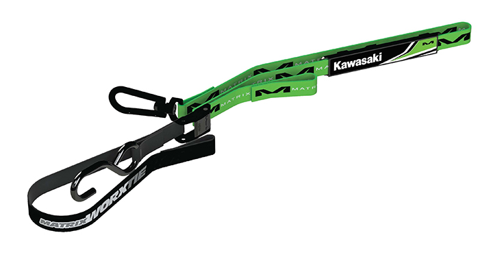 Kawasaki Matrix M1 Worx Tie-Down Strap detail photo 1