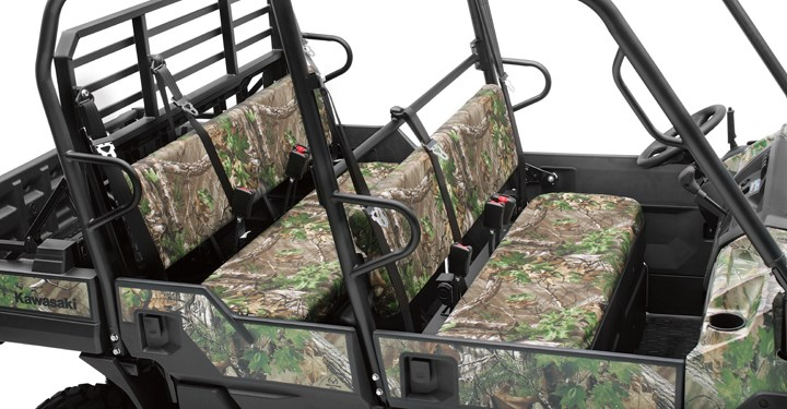 Seat Cover, Realtree Xtra Green detail photo 1