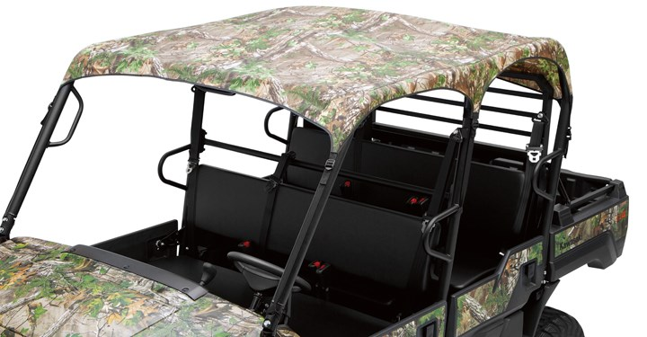 Soft Roof, Realtree Xtra Green detail photo 1