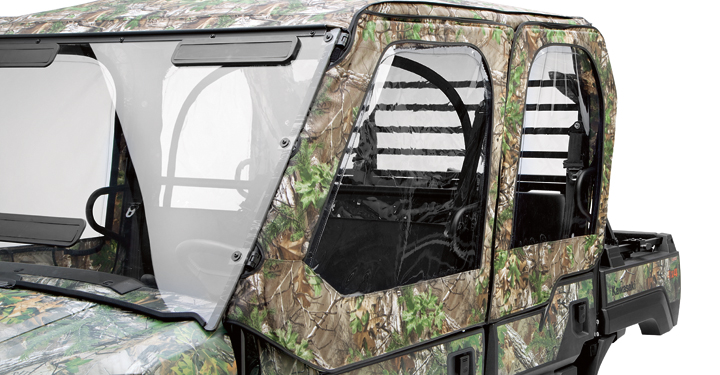 Soft Cab Enclosure Door Set, Realtree Xtra Green detail photo 1