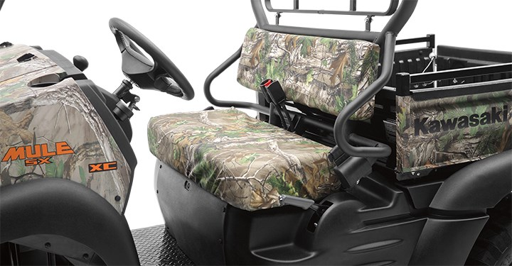 Seat Cover, Realtree Xtra Green detail photo 2