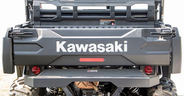 Kawasaki Reflective Tail Gate Decal detail photo 1