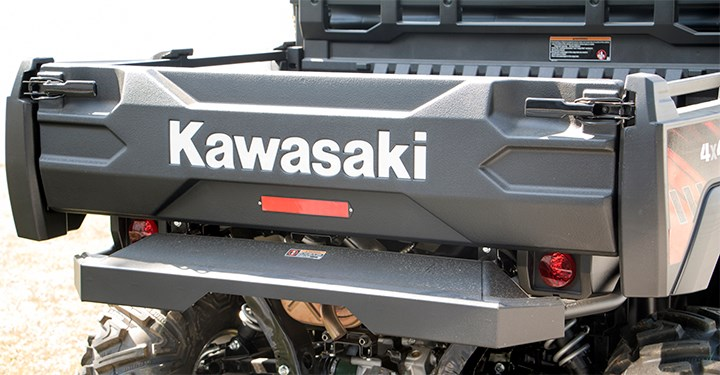 Kawasaki Reflective Tail Gate Decal detail photo 2