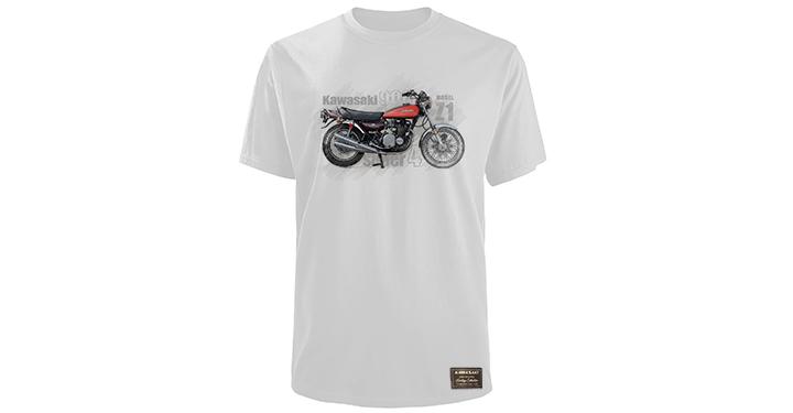 T-Shirt Kawasaki Heritage Z1 detail photo 1