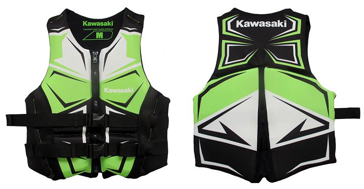 Kawasaki Evoprene PFD detail photo 1