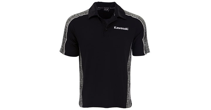 Kawasaki Moisture Wicking Polo Shirt detail photo 1