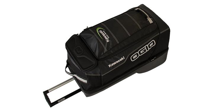 Kawasaki OGIO Adrenaline VRT Wheeled Bag detail photo 3