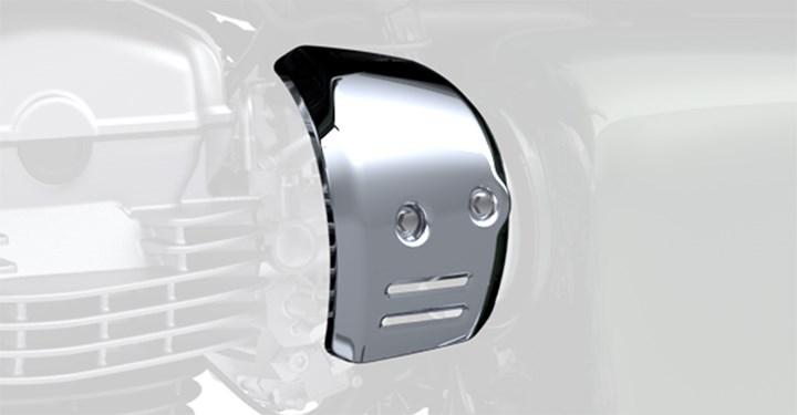 Throttle Body Cover, Chrome, Left Side detail photo 1