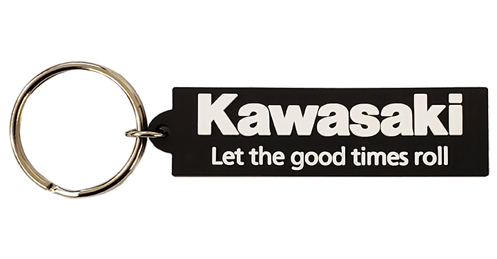 Kawasaki Let the good times roll Key Chain detail photo 1