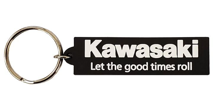 Porte clé Kawasaki Let the good times roll detail photo 1