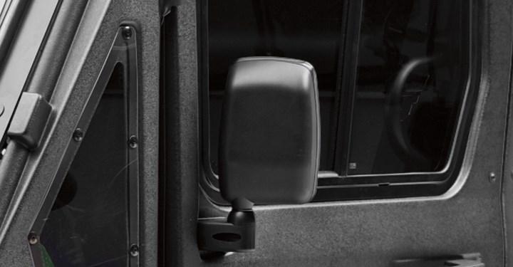 Hard Cab Enclosure Side Mirror Set detail photo 3
