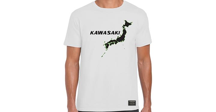 T-shirt Kawasaki Heritage, Îles du Japon detail photo 1