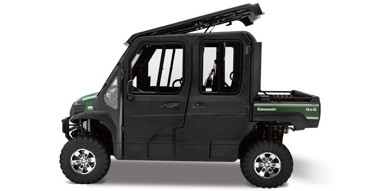 Hard Cab Enclosure Roof and Frame detail photo 4