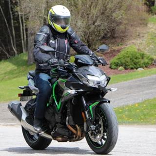 2020 Kawasaki Z H2 supercharged and supernaked