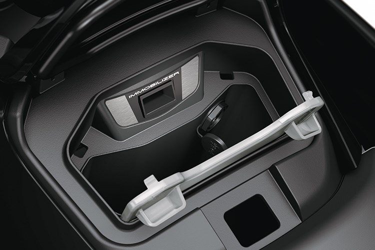 There is no shortage of storage-space available on all three STX-160 models.