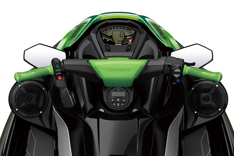 Riders will enjoy the comfort of the new handlegrip design on the X / LX models.
