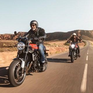 Motociclistas Z900RS